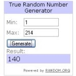 Giveaway Winner: My Baby Clothes Boutique $25 gc