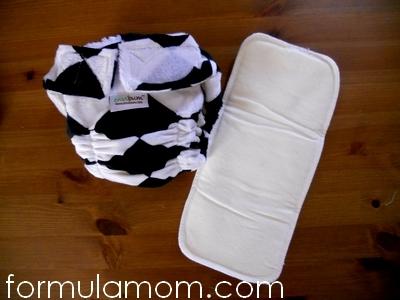 Envibum Envicheckered All-in-One cloth diaper