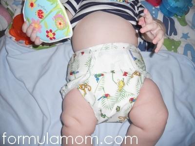Mother-ease Rikki Wrap cloth diaper cover