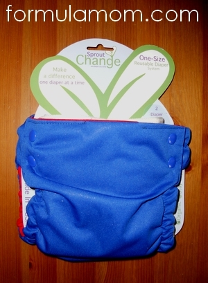Sprout Change Reversible & Reuseable Cloth Diaper