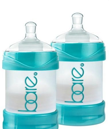 Bare Bottles - Learn why Bare Air-Free Bottles are some of the best baby bottles for breastfeeding, formula feeding, and combination feeding! See why they're great for gassy, fussy, and reflux babies.