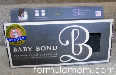 Baby Bond Flex Nursing Sash