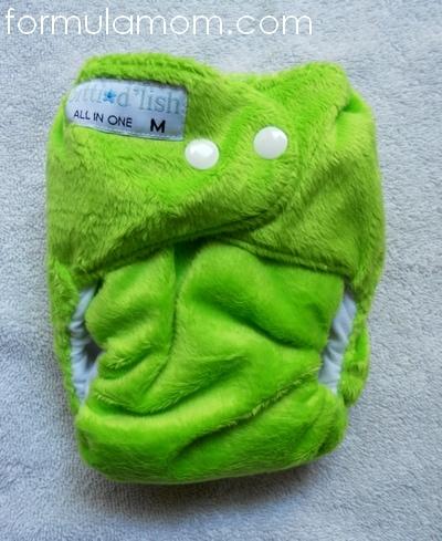 itti bitti d'lish all-in-one aio cloth diaper