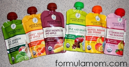 Peter Rabbit Organics Fruit Snacks & Veggie Blends