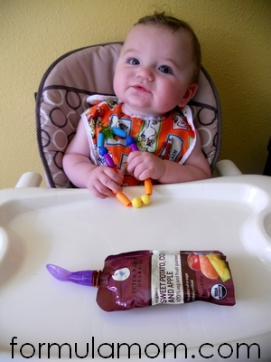 Peter Rabbit Organics baby food