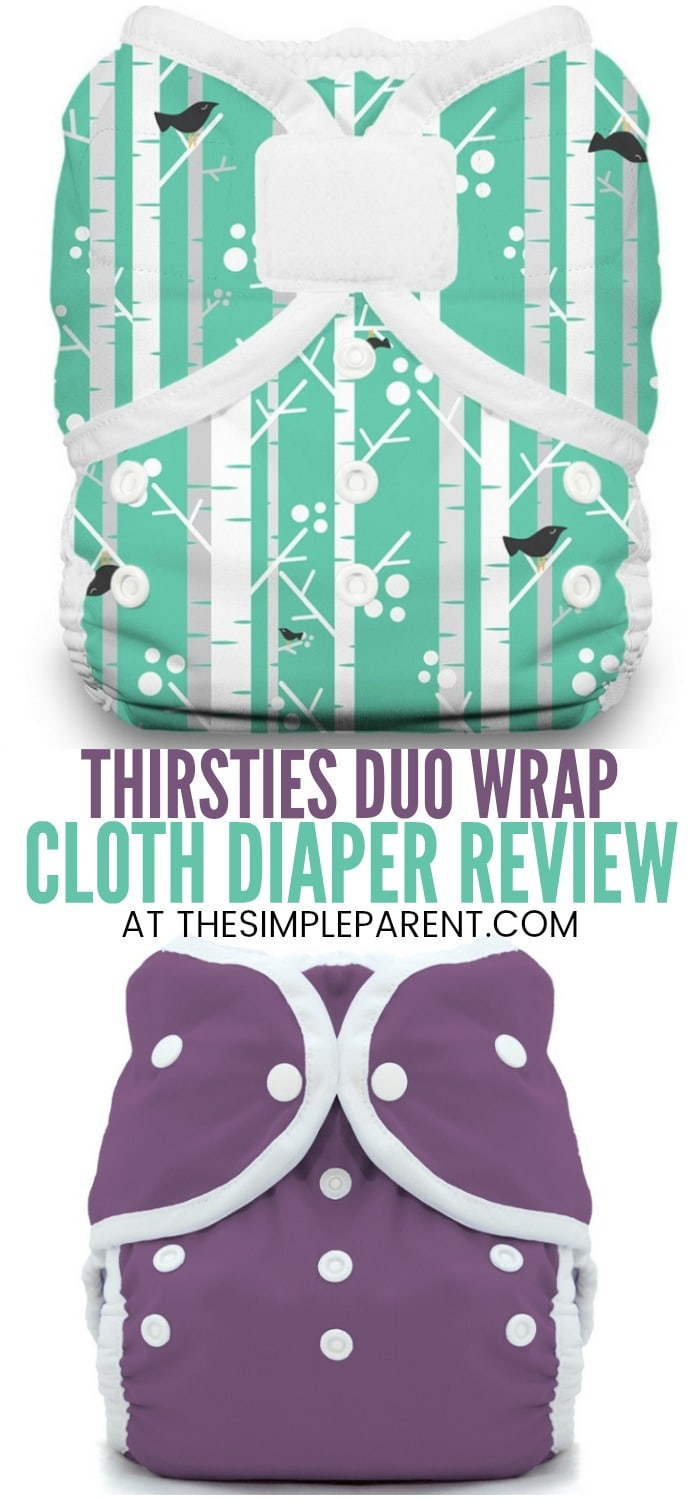 Thirsties Duo Wrap Review - Learn more about how these cloth diaper covers might work for your baby. Do they work for newborns? How do they fit? Learn more about how these diapers work and learn about other Thirsties cloth diaper products!