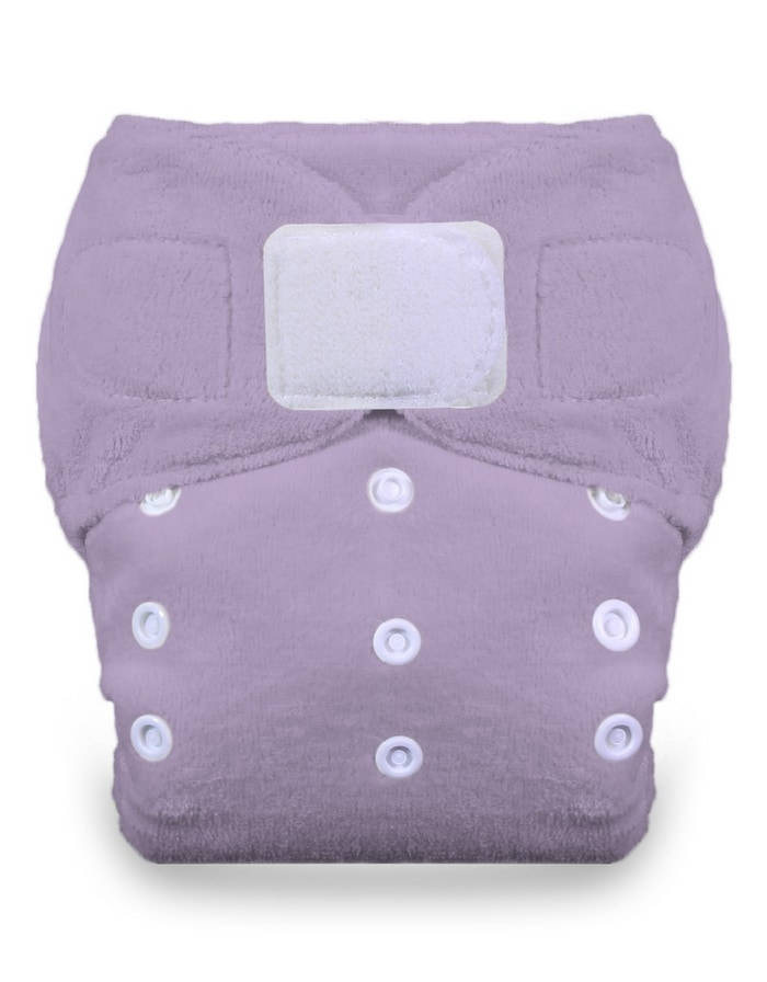 See how the Thirsties Duo Fab Fitted works well with the Thirsties Duo Wrap cloth diaper cover.