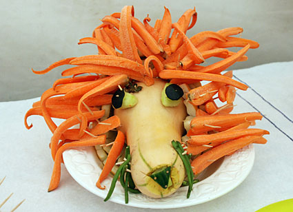 Fun with vegetables