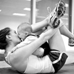 Fitness Friday: 5 Ways to Workout with Baby