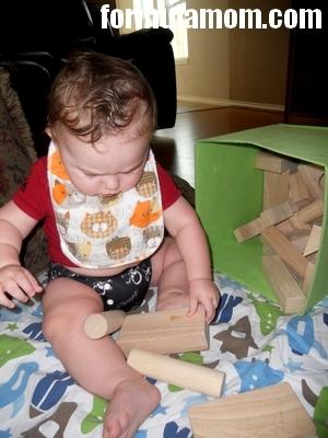 Heirloom Wooden Toys Hardwood Block Set