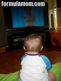 Watching Baby Signing Time