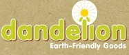 Dandelion, Earth-Friendly Goods