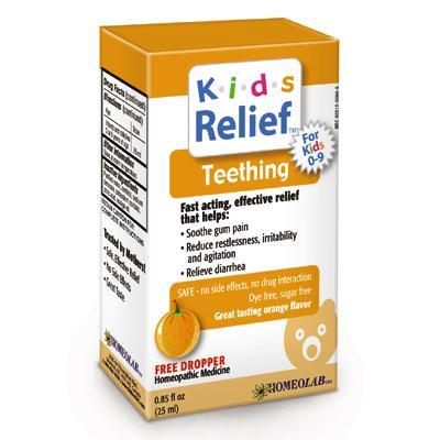 Kids relief teething