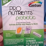 Adding to my Daily Regimen with Centrum ProNutrients Probiotics #NutritionPossible #CBias