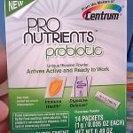 Adding to my Daily Regimen with Centrum ProNutrients Probiotics #NutritionPossible #CBias