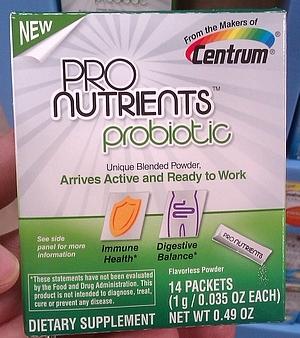 Centrum ProNutrients Probiotics
