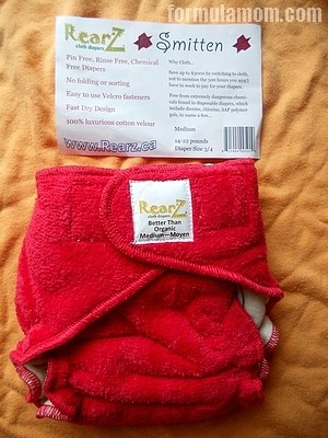 Rearz offers a variety of cloth diapers for baby including the Smitten ...