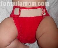 Rearz Smitten Fitted cloth diaper
