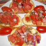 Tasty Tuesday: Bruschetta with Capers recipe