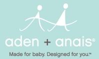 Aden + Anais sleeping bag