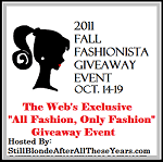 Fall Fashionista Giveaway Event
