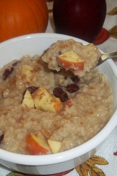 Maple And Fruit Oatmeal Recipe