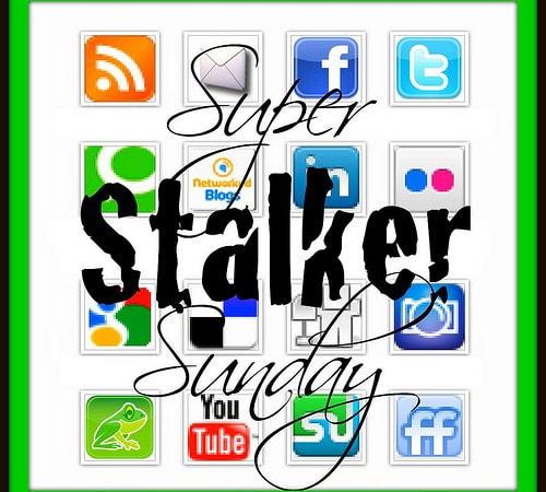 Super STALKER Sunday #BlogHop 34