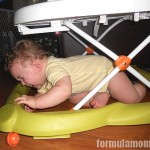 Wordless Wednesday: Baby Walker Woes