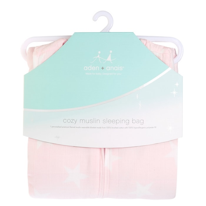 Aden and Anais Sleep Sack - The muslin sleep sack is a baby nursery must have. There are boy and girl prints available in the bedding. Learn more about the uses and check out the cool prints!
