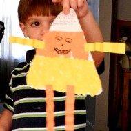 Frugal Fun for Kids: Candy Corn Craft Person
