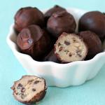 No Bake Chocolate Chip Cookie Balls Recipe