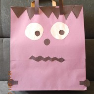 Halloween Trick or Treat Bag Craft