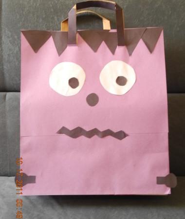 Trick or Treat Bag Craft