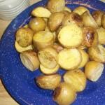 Tasty Tuesday: Roasted Baby Golden Potatoes Recipe