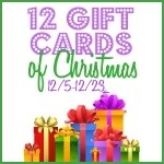 12 Gift Cards of Christmas: Day 3 – $5 Target (US)