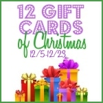 12 Gift Cards of Christmas Giveaway Event