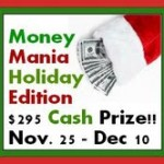 Win $295 cash with Money Mania!