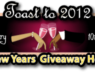 For Bloggers: Toast to 2012 Giveaway Hop Sign Ups
