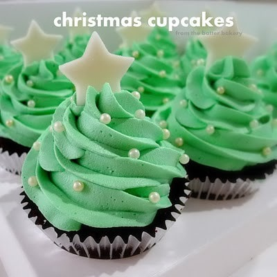 Holiday Inspiration for Christmas Cupcakes