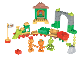 All Aboard The Dinosaur Train Mega Bloks
