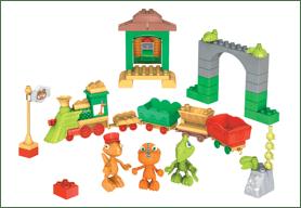 All Aboard The Dinosaur Train Mega Bloks