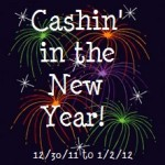 Cashin' in the New Year Giveaway! Win $190!