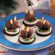 12 Cookies of Christmas Cookie Recipes: Christmas Mice