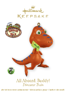 Dinosaur Train Hallmark Ornament