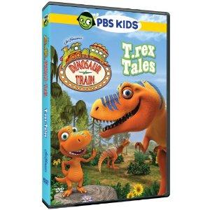 Dinosaur Train T-Rex Tales  DVD