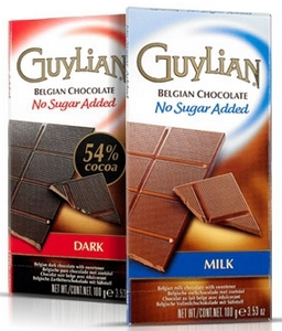 Guylian No Sugar Added Chocolate Bars