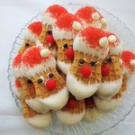 12 Cookies of Christmas Cookie Recipes: Nutter Butter Santas