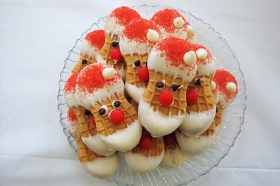 12 Cookies of Christmas - Nutter Butter Santas cookie recipe
