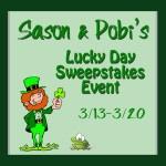 Feeling Lucky Blog Giveaway Event! Win $25 Amazon GC!