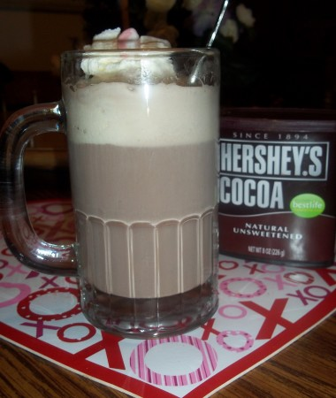 Mint Hot Chocolate Float
